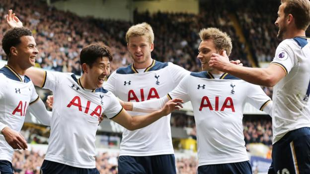 Tottenham hotspur 4 0 bournemouth bbc sport - Bbc football league 1 table ...