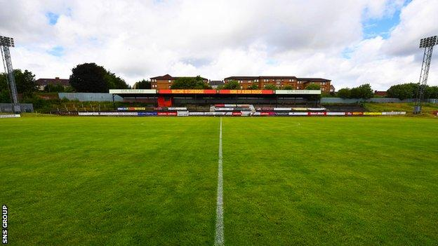 Cliftonhill will stage League Two matches next season