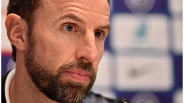 Sterling-Gomez clash: Gareth Southgate says forward may not be 'hugely enthusiastic' about him thumbnail