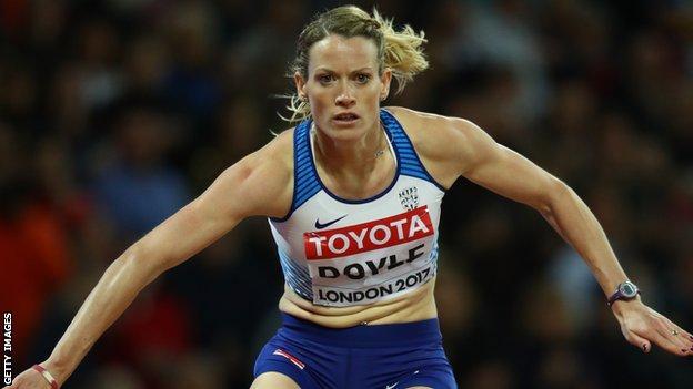 Great Britain team captain Eilidh Doyle