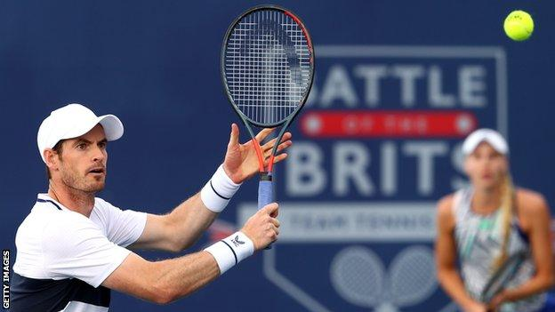 , Battle of the Brits: Andy Murray & Naomi Broady set up winner-takes-all finale