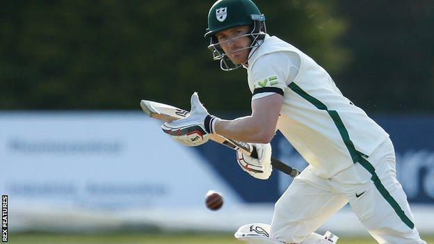 Worcestershire wicket-keeper batsman Ben Cox