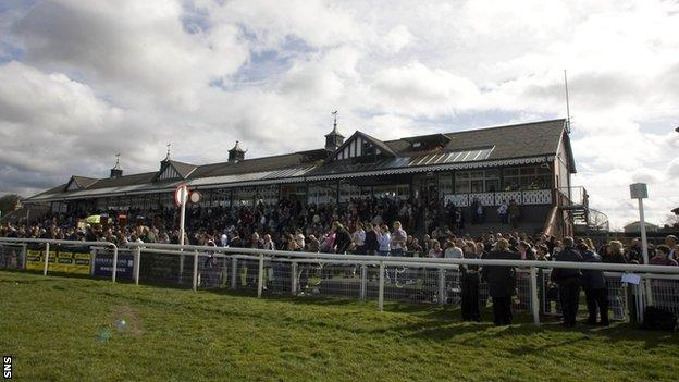 Spectators will not be allowed when racing resumes at Musselburgh