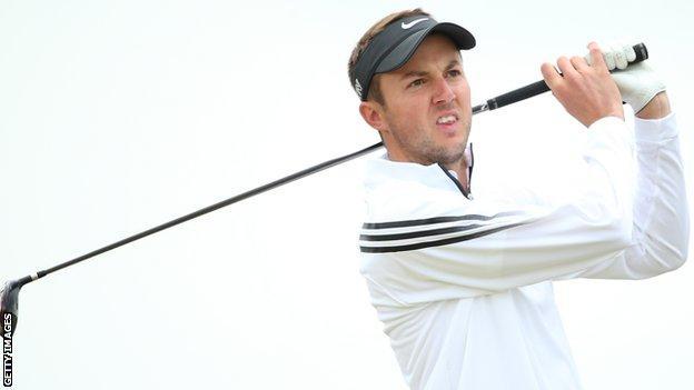 English golfer Ashley Chesters