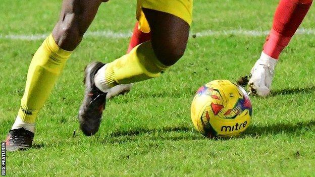Non-league football match