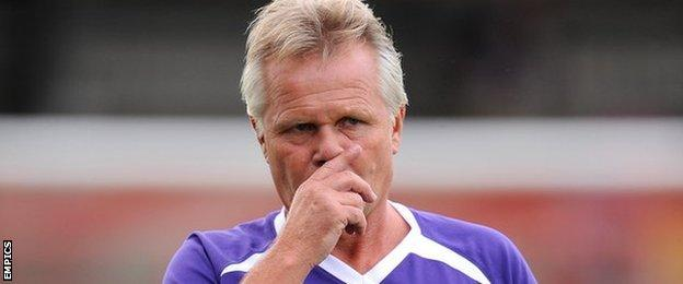 Kidderminster Harriers manager Gary Whild