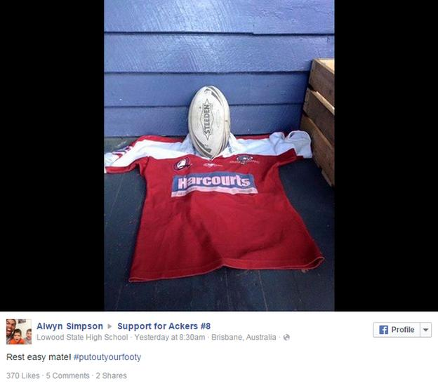 James Ackerman tribute