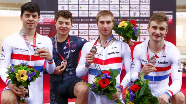 Track Cycling World Cup: Charlie Tanfield wins second gold