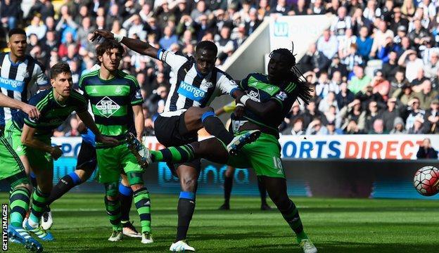 Moussa Sissoko goal v Swansea