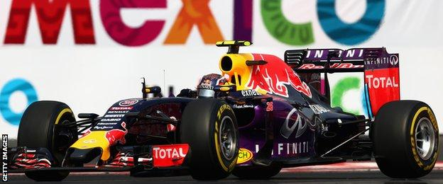 Kvyat was on course for a third-place finish in Mexico before Williams' Valtteri Bottas overtook him when the safety car was released