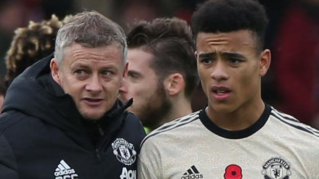 Manchester United boss Solskjaer says Greenwood emergence means he is happy with strikers thumbnail