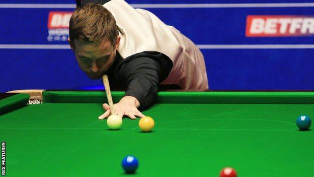 Jamie Jones reached the Crucible quarter-finals in 2012