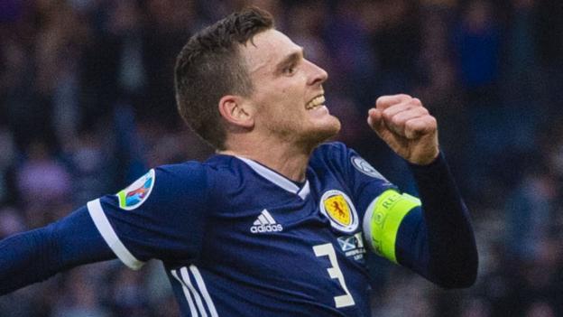 Liverpool mindset can increase Scotland - Andy Robertson thumbnail