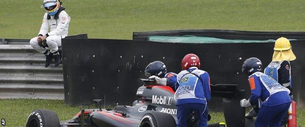 Fernando Alonso, Brazilian Grand Prix