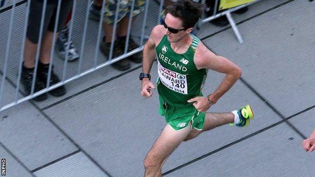 Kevin Seaward clocked a personal best in Berlin