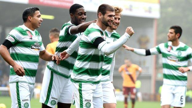 Celtic enjoy a large following on the other side of the Atlantic
