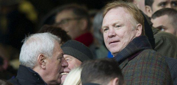 Walter Smith and Alex McLeish