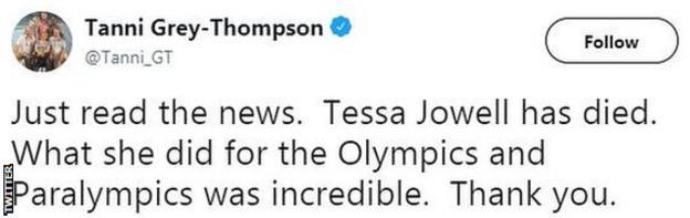 Dame Tanni Grey-Thompson