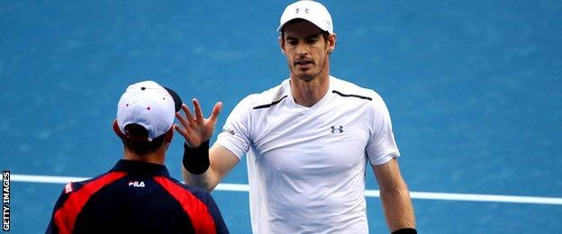 Sam Querrey and Andy Murray