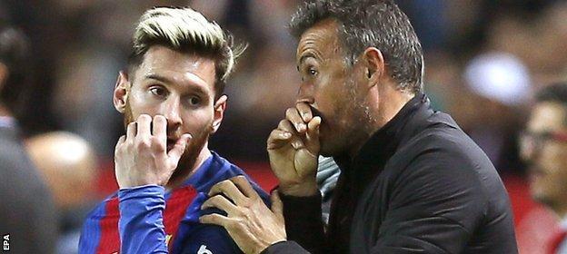 Messi and Enrique