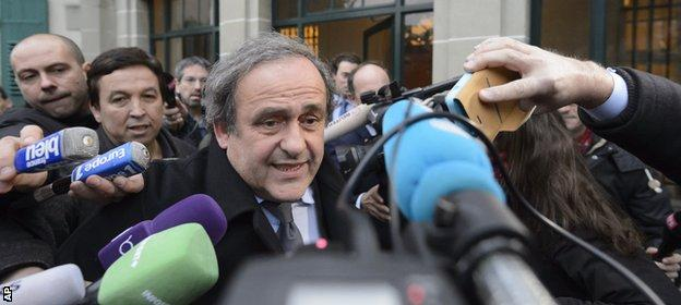 Platini won the Ballon d'Or three times