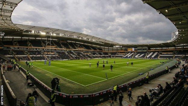 Hull were due to play Castleford at the KCOM Stadium on Sunday