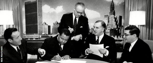 Successfully negotiating in the BBC's New York office for the rights to televise Muhammad Ali's 1967 world heavyweight title fight against Ernie Terrell