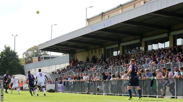 Dulwich Hamlet's Champion Hill Stadium
