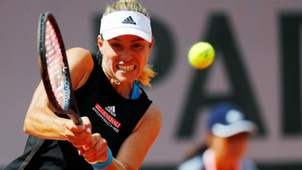 French Open: Angelique Kerber suffers shock first-round defeat thumbnail