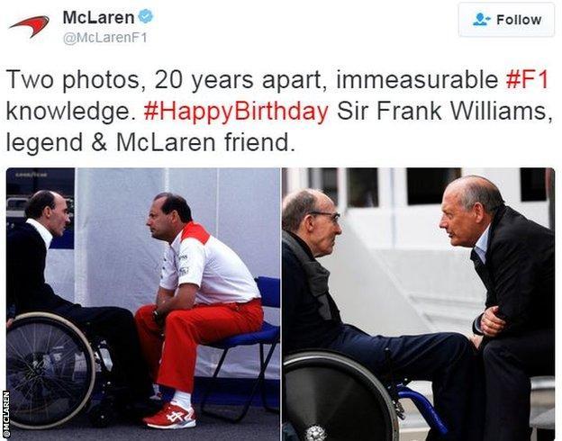 McLaren twitter