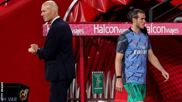 Man City v Real Madrid: Gareth Bale left out of Real squad for Champions League tie (2020)