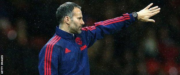 Manchester United Assistant manager Ryan Giggs