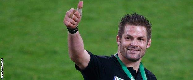 New Zealand skipper Richie McCaw