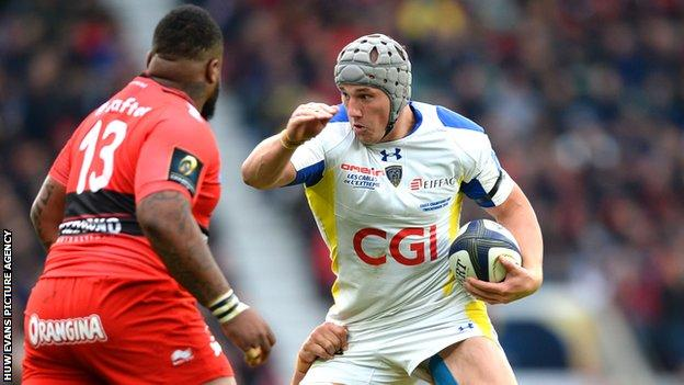 Wales centre Jonathan Davies was a losing European Champions Cup finalist with Clermont in 2015