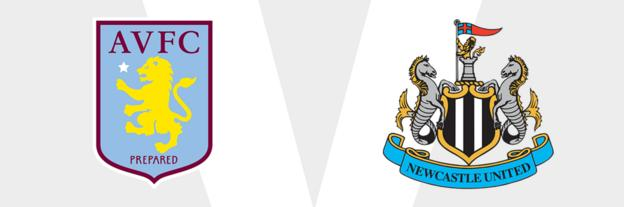 Aston Villa v Newcastle