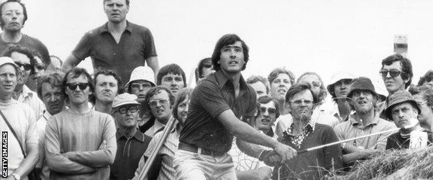 Severiano Ballesteros, Royal Birkdale, 1976