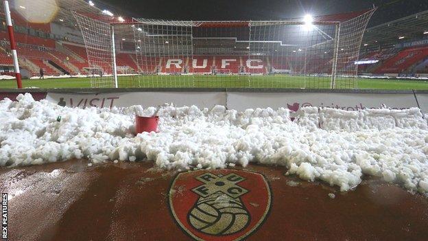 Rotherham United v Derby County
