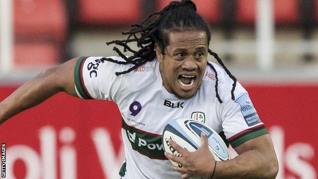 TJ Ioane has scored three tries in 20 appearances for London Irish
