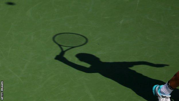 bbc report on tennis scandal betting