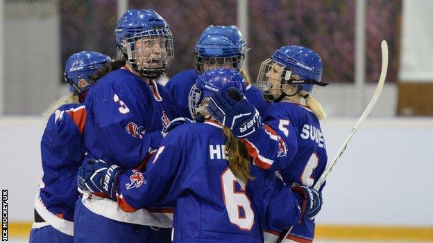 GB women ice hockey