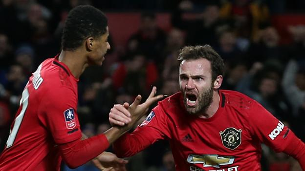 Manchester United 1-0 Wolverhampton Wanderers, FA Cup third-round replay thumbnail