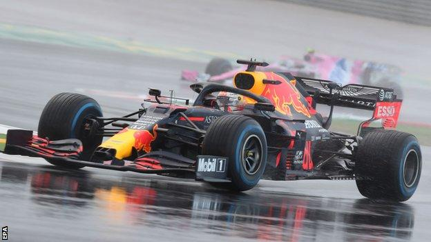 Verstappen looked quick throughout qualifying. Pic - EPA