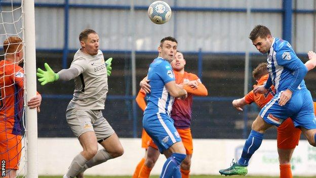 Coleraine have won their last six matches in the Irish Premiership