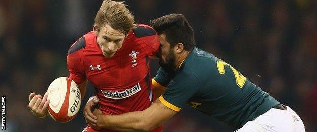 Liam Williams was part of the Wales team which beat South Africa 12-6 in November