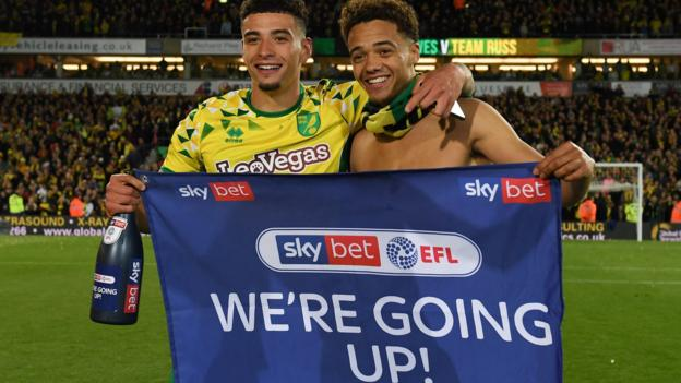 Norwich City 2-1 Blackburn Rovers: Canaries promoted after Stiepermann & Vrancic goals