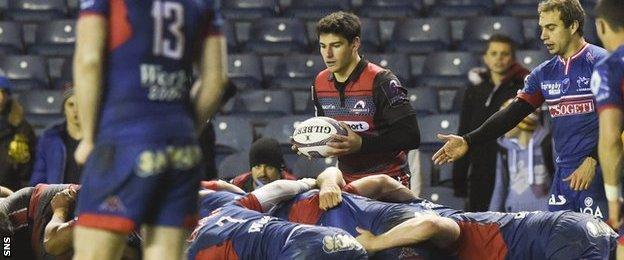 Edinburgh and Grenoble players