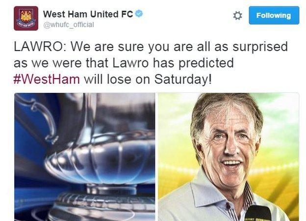 Lawro West Ham