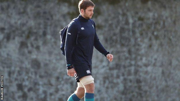 Iain Henderson's season was interrupted by two hand injuries but is now recalled to the Ireland squad by head coach Joe Schmidt