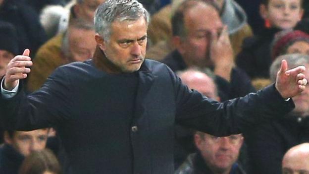 Chelsea boss Jose Mourinho admits doubts over top-four spot