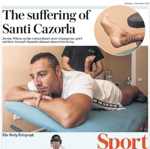 The Telegraph on Saturday